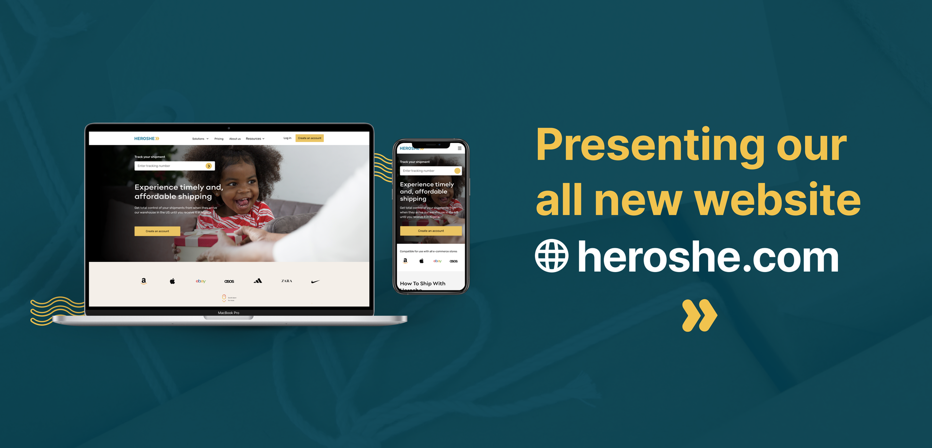 The Wait Is Over! Heroshe's Awesome New Website Is Here